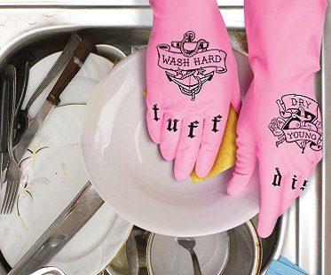 Tattooed Dish Gloves