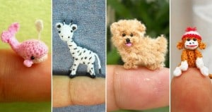 Tiny Crocheted Animals