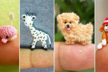 Tiny Crocheted Animals