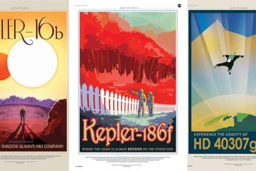nasa poster ads for far away planets