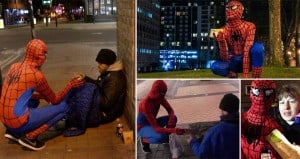 UK's Real Life Spiderman