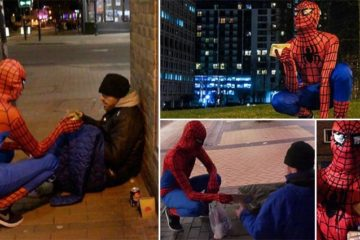 UK's Real Life Spiderman