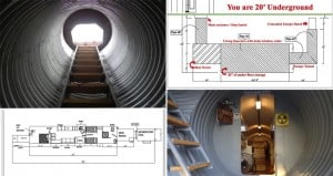 atlas survival shelters Underground Bunker Home