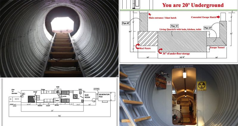 This Secret Underground Bunker Home For Millionaires Is Amazing