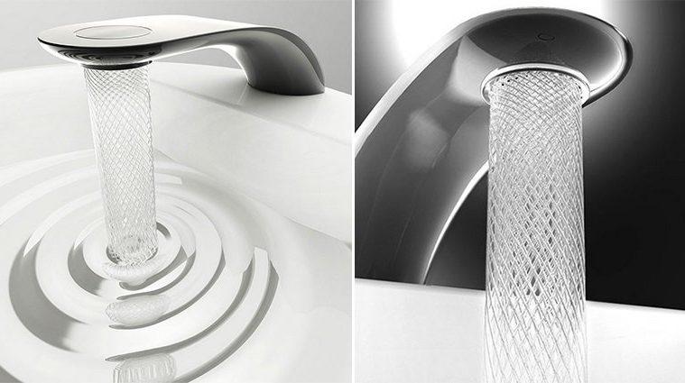 Water-Saving Swirl Faucet DesignWater-Saving Faucet Design
