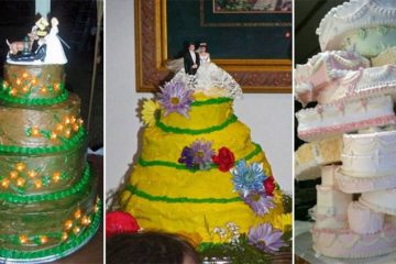 14 Hilarious Wedding Cake Fails You Will Lover
