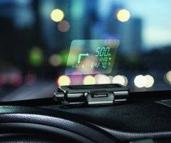 Windshield Projected Sat Nav