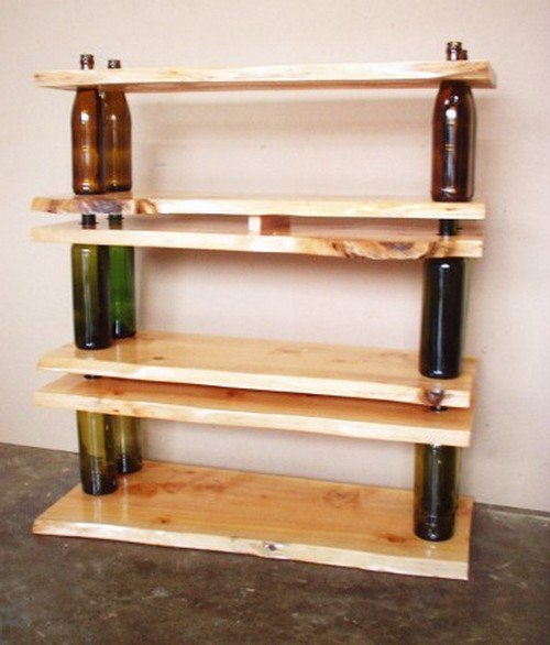 Wine-Bottle-Bookcase