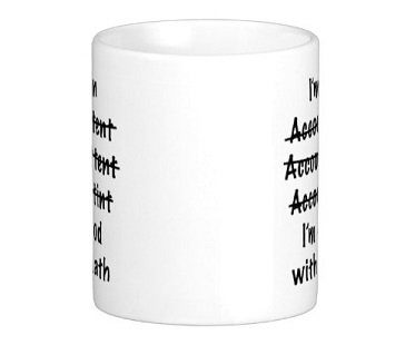 accountant mug front