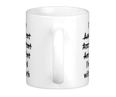 accountant mug front handle