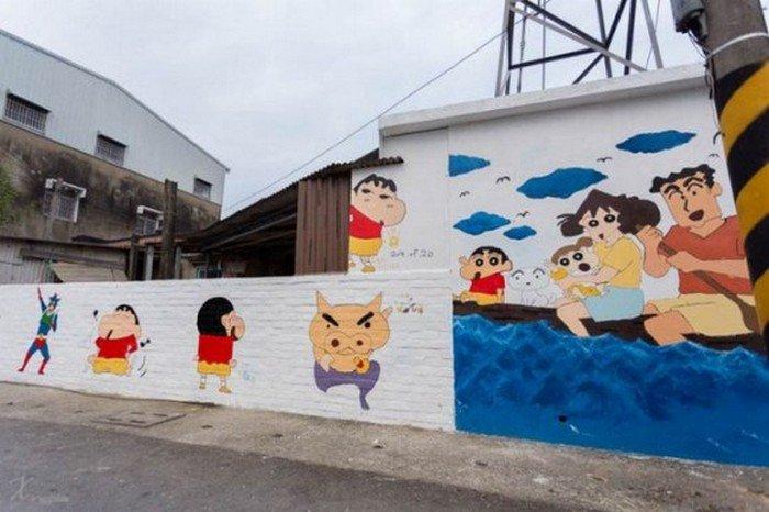anime mural
