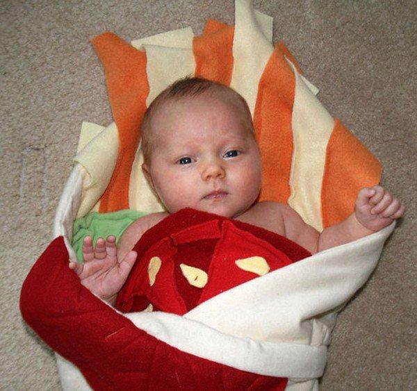 baby blanket tomato