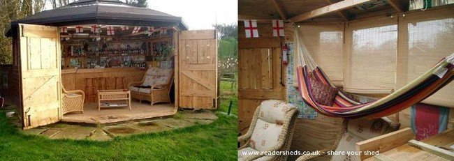 Outdoor Pub Shed