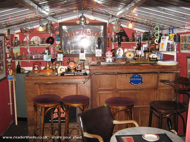 Home Bar Shed