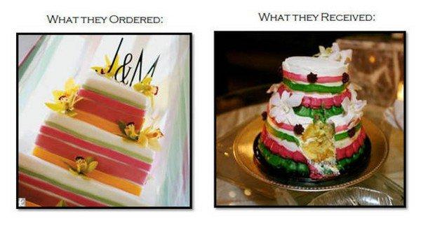bad cake comparison