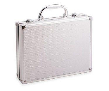 beer briefcase silver