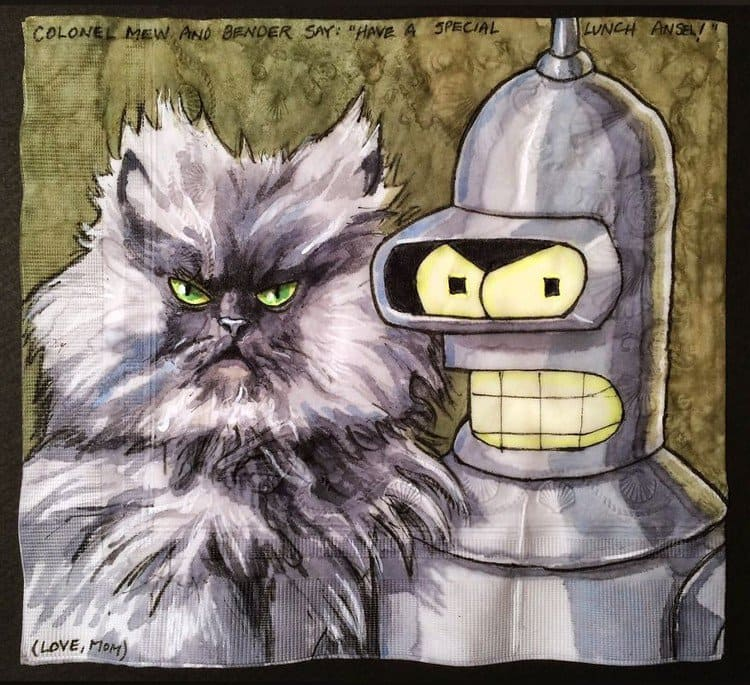bender colonel meow