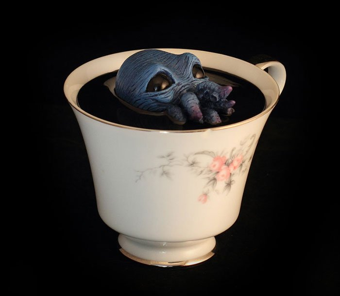 blue creature cup