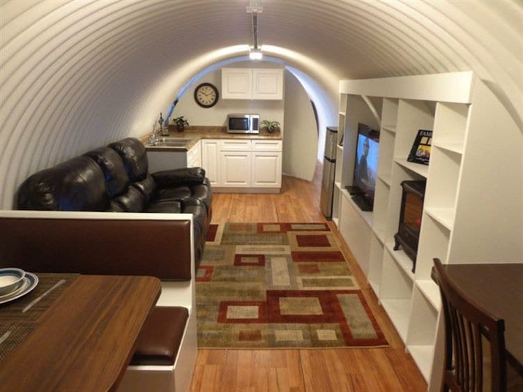 This Secret Underground Bunker Home For Millionaires Is