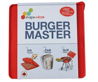 burger mold tray silicone pack