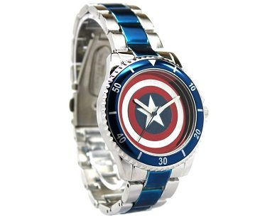 captain america watch side
