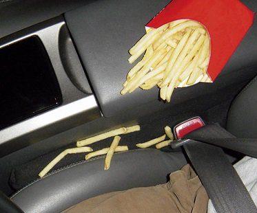 car seat gap stopper fries
