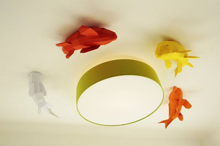 ceiling fish