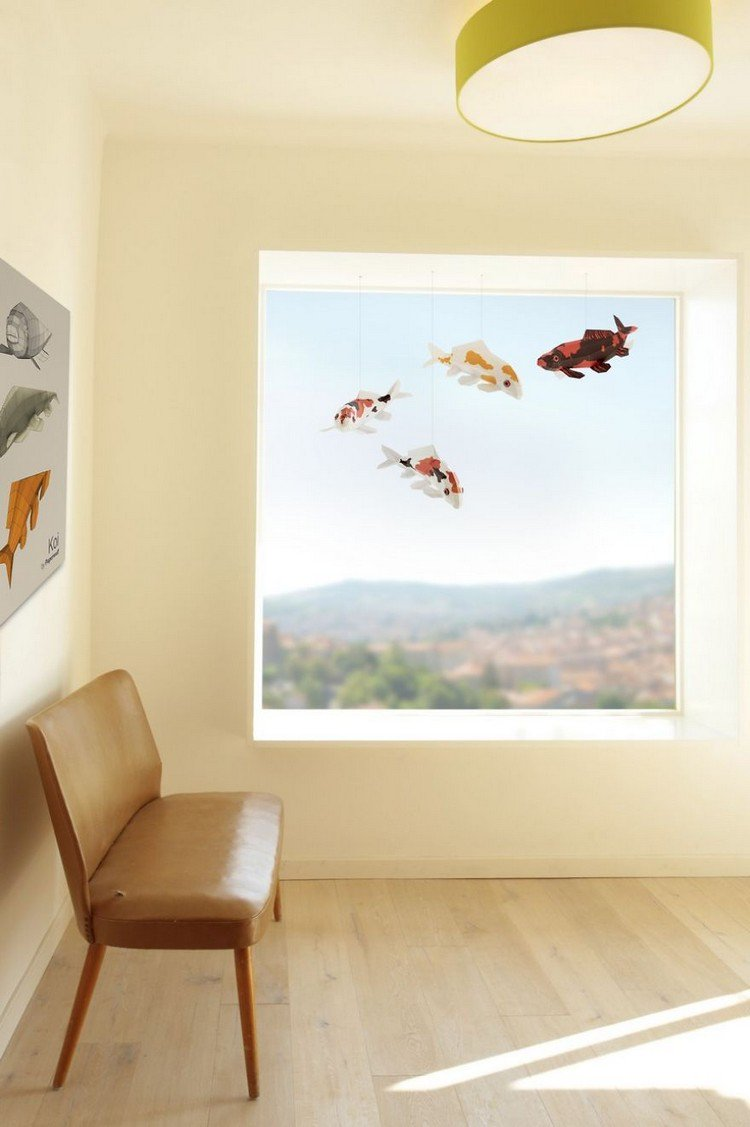 chair window fish