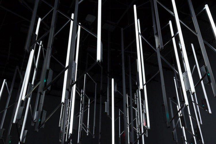 chandelier from below
