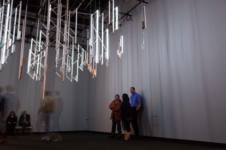 chandelier people