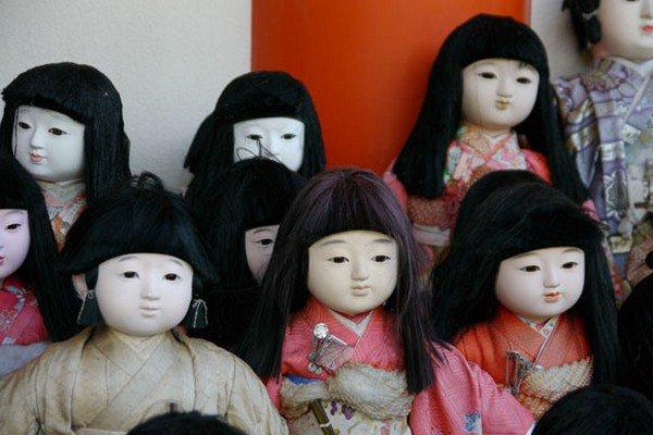 close up dolls