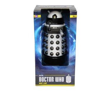 dalek night light doctor who box