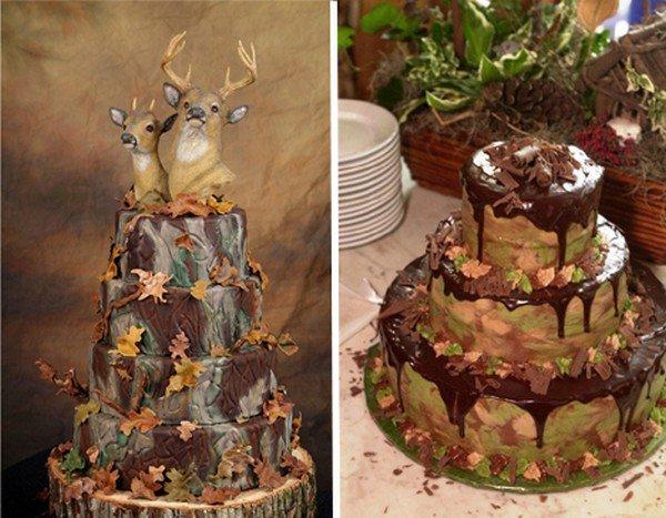 deer wedding cake fail