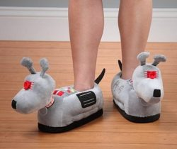 doctor who k9 slippers