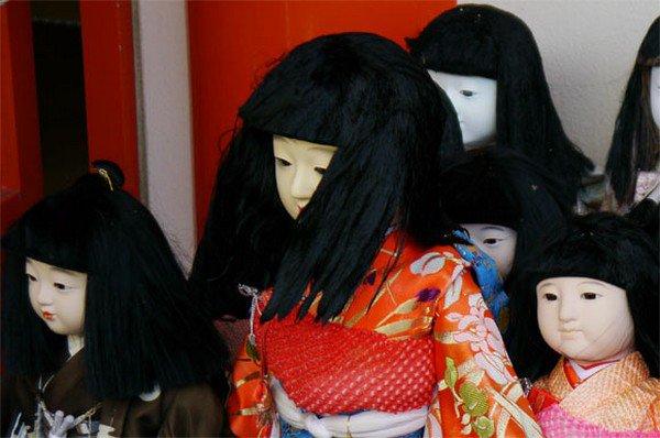 doll hair face cover