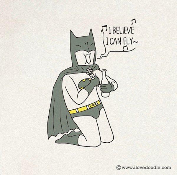 doodle-batman