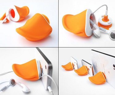 duck mouth phone stand holder