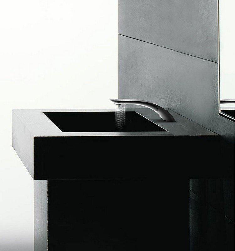 faucet square sink