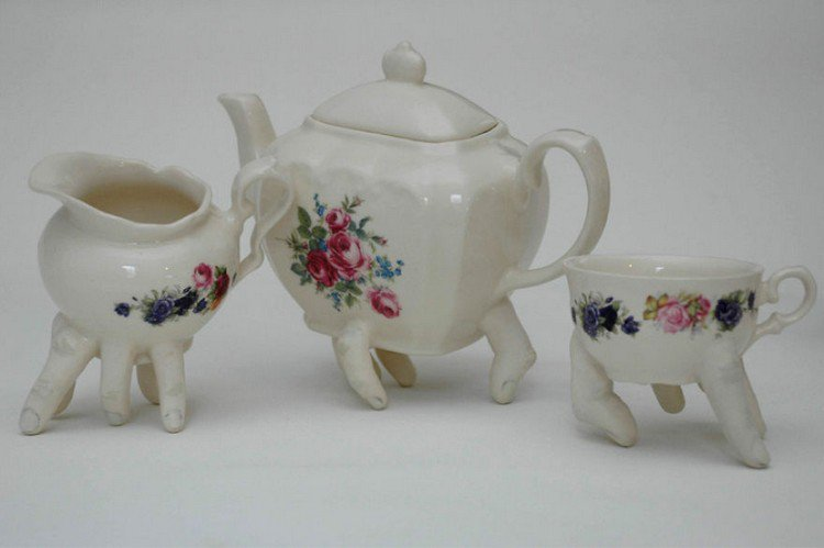 finger tea set