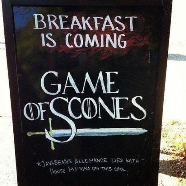 game of scones