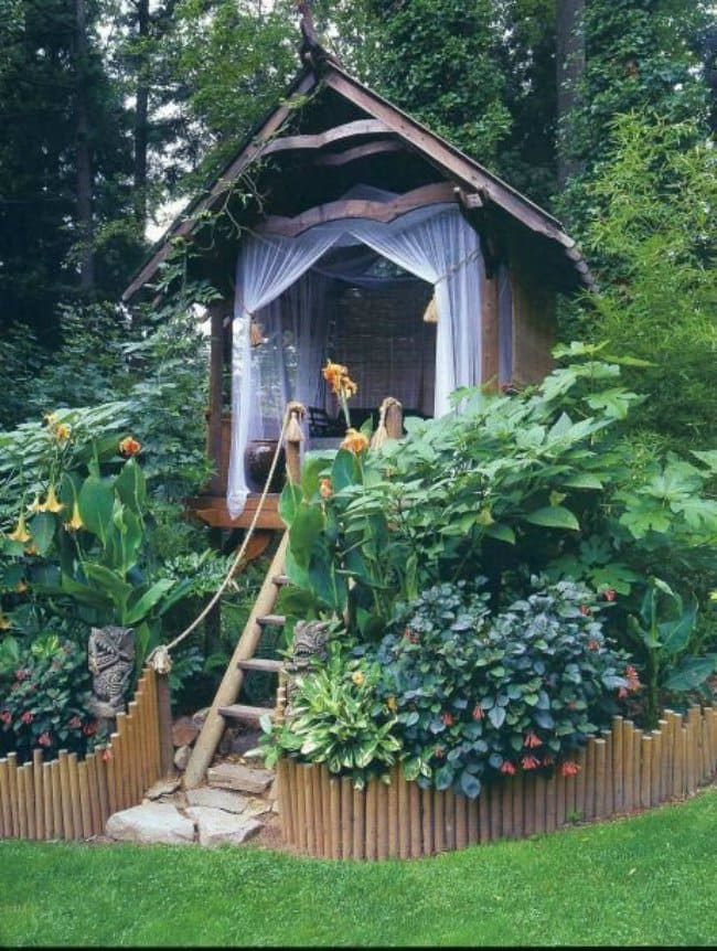 Garden Hangout Tiny House