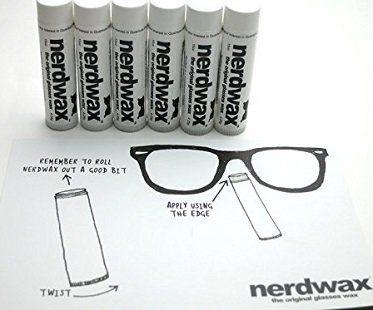 glasses wax nerdwax beeswax
