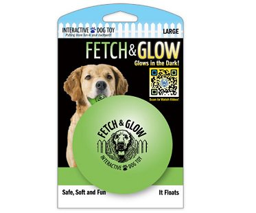 Glow In The Dark Dog Ball Pets At Home