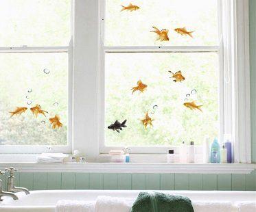 goldfish decals