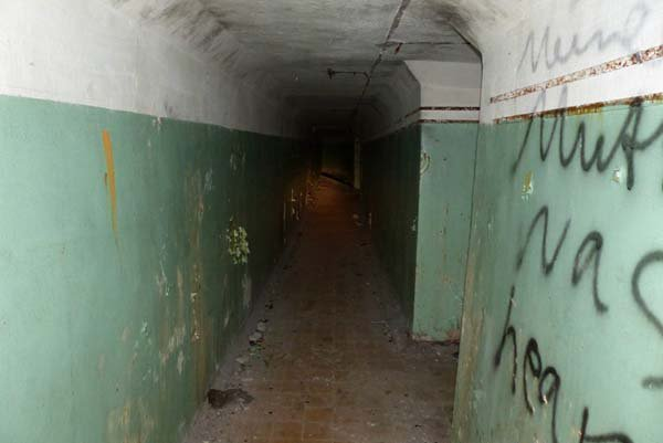 graffiti twist tunnel
