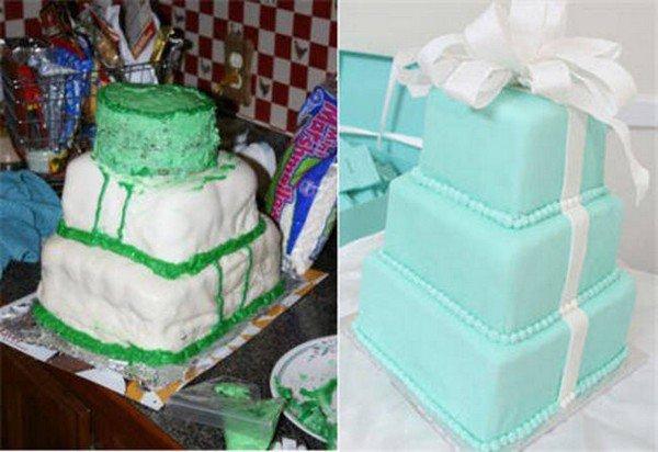 green mess cake