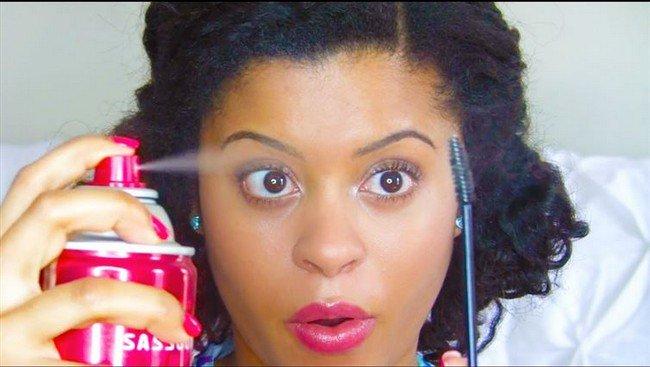 hairspray mascara girl