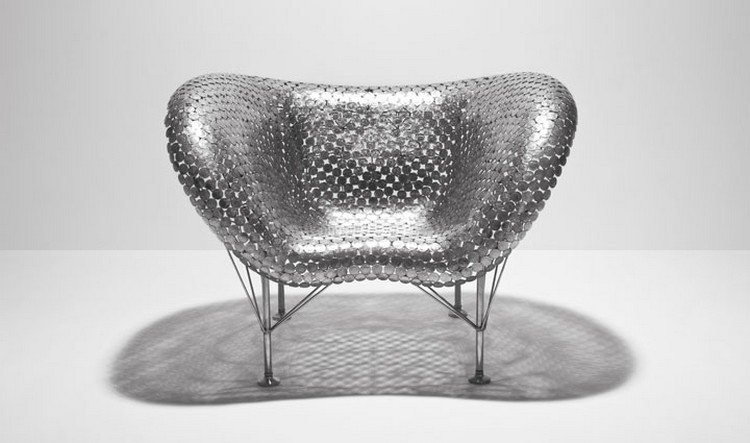half dollar chair