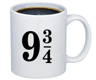 harry potter platform 9 and 3 quarters mug