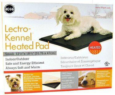 heated kennel pad box